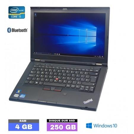 LENOVO T430 Core I5 - SSD - Ram 4Go - N°103002