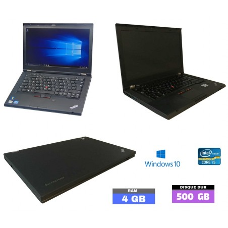 Lot de 3 LENOVO Thinkpad T430 Intel Core I5 - Ram 4go -  N°103010