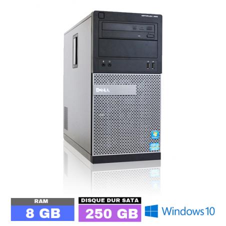 UC DELL OPTIPLEX 390 Sous Windows 10 - Core I3 - Ram 8 Go - N° 103110