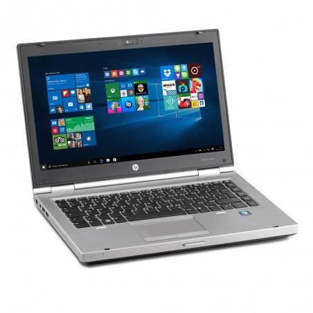 HP ELITEBOOK 8460P Sous Windows 10 - GRADE D -CORE I5 - 4Go RAM N°060511