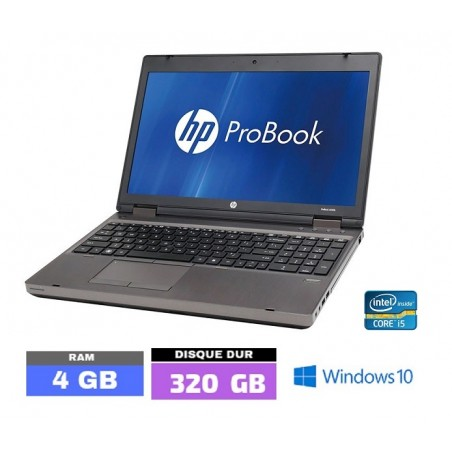 HP PROBOOK 6560B Sous Windows 10 - Core I5 -Ram 4 Go - N°070310