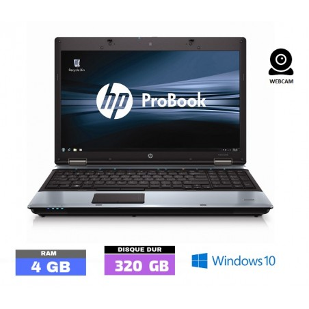 HP PROBOOK 6550B Sous Windows 10 - Core I3 -Ram 4 Go - N°111901