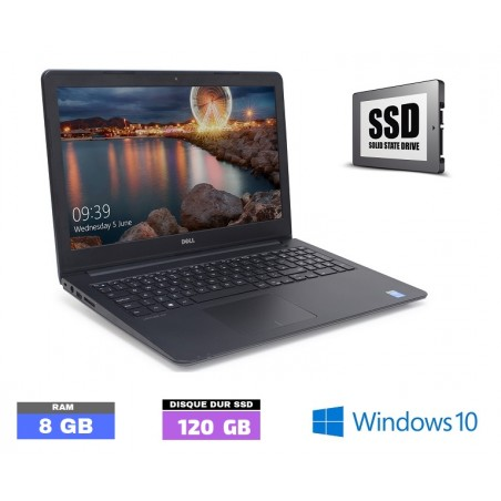 DELL LATITUDE E3550 Windows 10 Core I5 - SSD-  Ram 8 Go  - N°120190