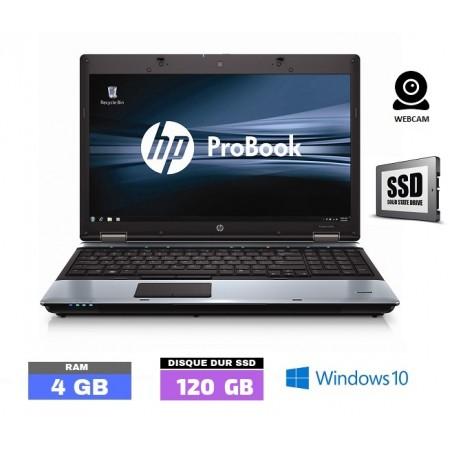 HP PROBOOK 6550B Windows 10 - Core I3 - SSD - Ram 4 Go - N°111901