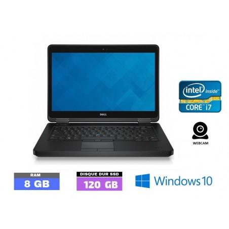 DELL LATITUDE E7240 Windows 10 - SSD - Core I7 - Ram 8 Go - N°100201
