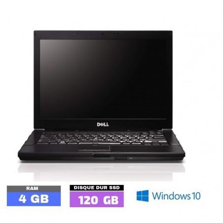 DELL LATITUDE E6410  Windows 10 - SSD - Core I5 - Ram 4 Go - SSD - N°020303