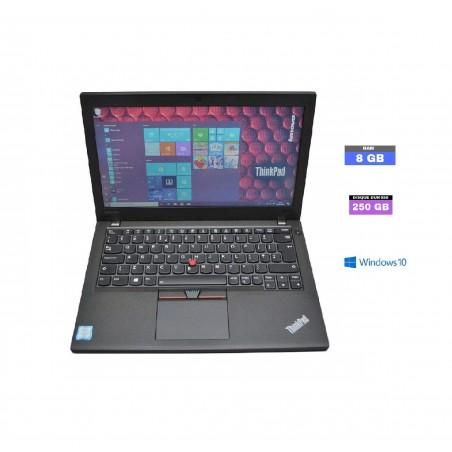 LENOVO THINKPAD X270 Core I5 Windows 10 SSD  Ram 8 Go - N°020501