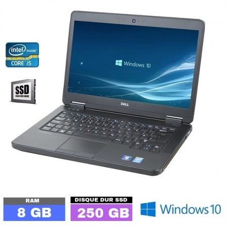 DELL E5440 Core I5 - Windows 10 - SSD - Ram 8 Go- N°030410