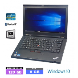 LENOVO T410 sous Windows 10...