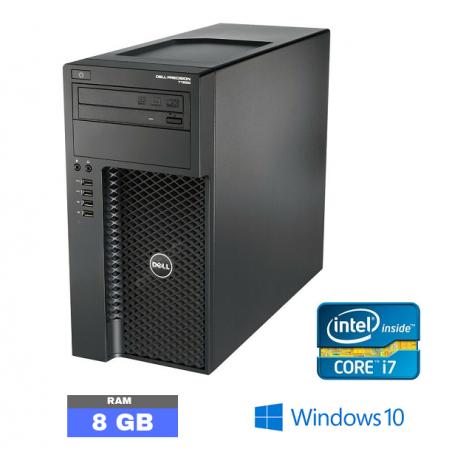 UC DELL PRECISION T1650  Windows 10 - Core I7 - Ram 8 Go - N°030990