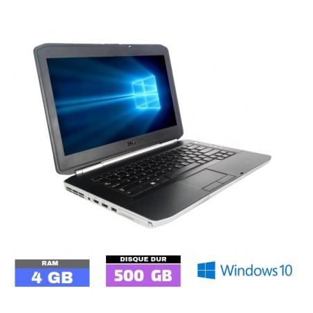 DELL E5420 Core I5 - Windows 10 - HDD 500 Go - Ram 4 Go- N°031120