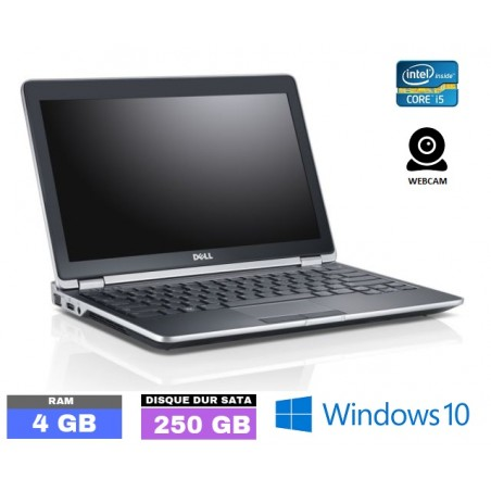 DELL E6320 Core I5 Sous Windows 10 - Ram 4 Go- N°100401