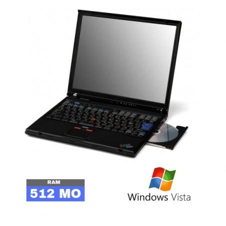 IBM T40 - Sous Windows Vista - Ram 512Mo - N°011030