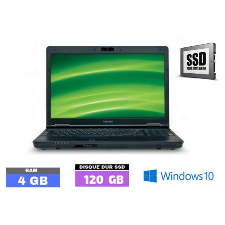 TOSHIBA TECRA A11  Core I5 - Windows 10 - SSD - Ram 4 Go  N° 040120