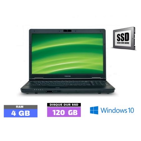 TOSHIBA TECRA A11  Core I5 - Windows 10 - WEBCAM - SSD - Ram 4 Go  N° 040120