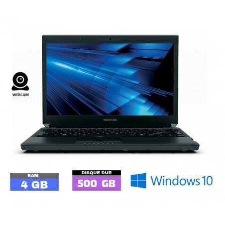 TOSHIBA PORTEGE R830  Core I5 - Windows 10  - Ram 4 Go  N° 040410
