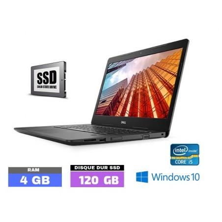DELL LATITUDE 3490 Windows 10 Core I5 - SSD -  Ram 4 Go  - N°040810