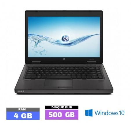 HP PROBOOK 6460B Sous Windows 10 - Celeron - Ram 4 Go - N°041910