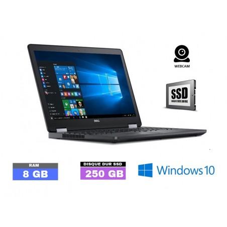 DELL LATITUDE E5570 Windows 10 - SSD - Core I5 - SSD - Ram 8 Go  - N°050810