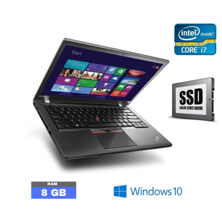 LENOVO X250 Core I7 - Windows 10 - Ram 8 Go - N°011360