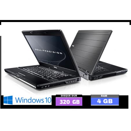 DELL PRECISION M4500 - Windows 10 - Core I7 -  Ram 4 Go  - N°070305