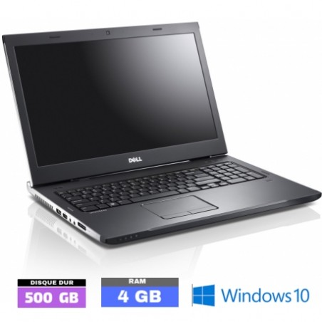 DELL VOSTRO 3750 sous Windows 10 - Ram 4 Go - HDD 1 To - N°072102
