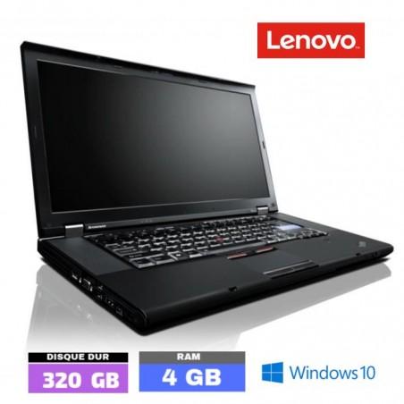 LENOVO THINKPAD T510 Core I5 Sous Windows 10 - HDD 320 Go - Ram 4 Go - N°072201