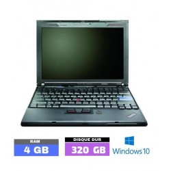 Lenovo Thinkpad X200 sous...