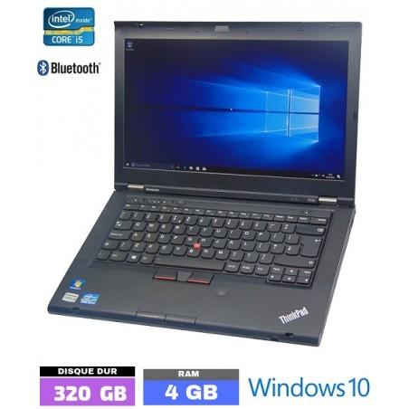 LENOVO T430 Core I5 - Grade D - Windows 10 - Ram 4 Go - N°091710