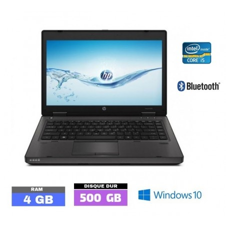 HP PROBOOK 6460B - CORE I5 - Sous Windows 10 - Ram 4 Go - N°101520