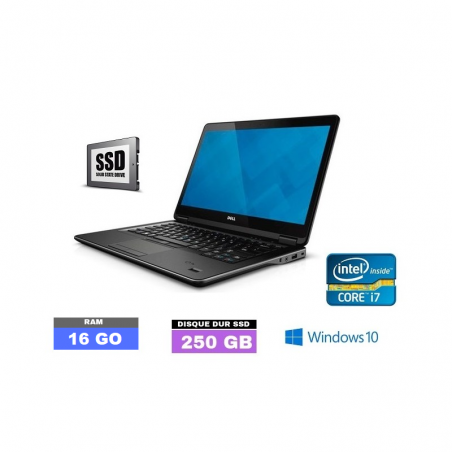 DELL E7440 Core I7 - Windows 10 - SSD - Ram 16 Go- N°051403