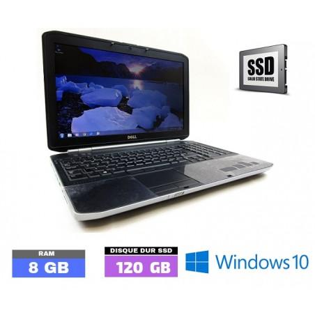 DELL E5520 Core I3 Windows 10 - SSD - Ram 8 Go- N°102110
