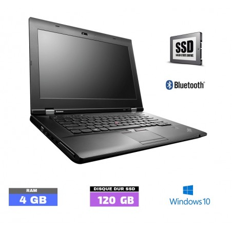 LENOVO THINKPAD L530 - Windows 10 - SSD - Ram 4 Go - Grade D - N°111902
