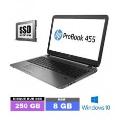 HP Probook 455 G2 - SSD 250...